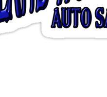 ROLAND HOLMES blue logo  Sticker