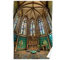 St Patrick's Cathedral • Melbourne Poster