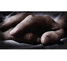 Touch... Photographic Print