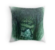 Distaste For Love Throw Pillow