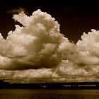 Dramatic clouds by Ian Ker
