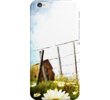 Walkin' Down a Country Road iPhone Case/Skin