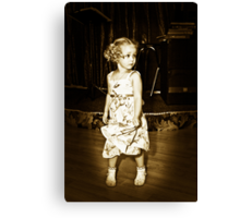 Shirley Temple????? Canvas Print
