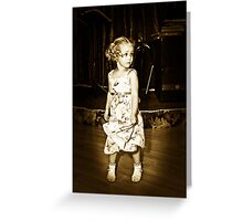 Shirley Temple????? Greeting Card
