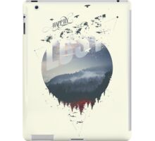Happily lost iPad Case/Skin