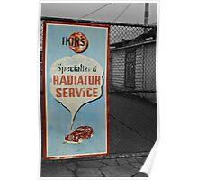 Ikin's Radiator Service Poster