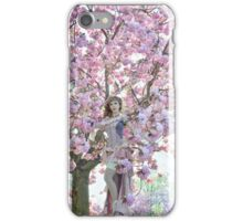 ONE MORE CHERRY BLOSSOM iPhone Case/Skin