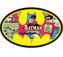 Batman Comic Strip Logo by ScottDowns