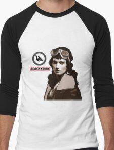 The Black Swan Men's Baseball ¾ T-Shirt