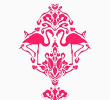 Flamingo Damask Pink Unisex T-Shirt