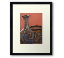 Vase and other things Framed Print