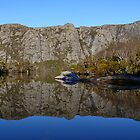 Crater at Cradle Mountain by Josie Jackson