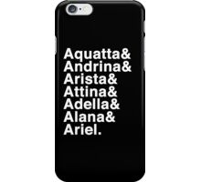 Daughters of Triton (Variant) iPhone Case/Skin