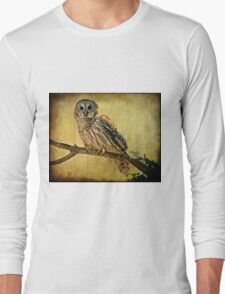 Solitude Stands While Wisdom Draws Near Long Sleeve T-Shirt