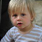 Krásné zlatovlasé dítě by Denitsa Prodanova