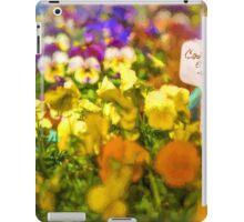 Contenitore e Fiori (Container of Flowers) [Gary Guthrie] iPad Case/Skin