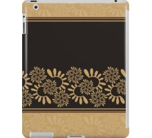 "Ornament ""Black and gold"" iPad Case/Skin"