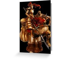 Ornstein & Smough Greeting Card