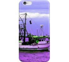 Fishing boats at Pearl Beach iPhone Case/Skin