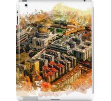Rome aerial art iPad Case/Skin