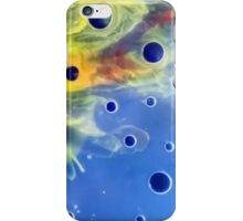 Bubble Watercolor Abstraction Painting iPhone Case/Skin