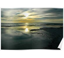 Sunset at Lover's Key, Florida Poster