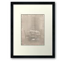 ~ teacakes in the afternoon ~ Framed Print