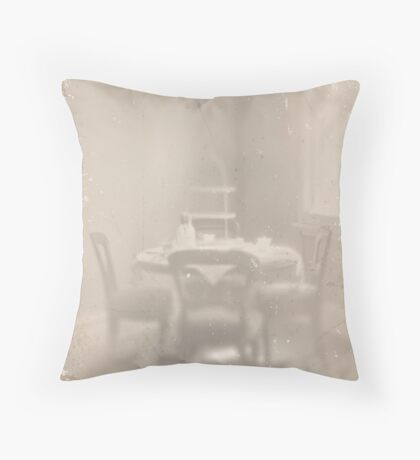 ~ teacakes in the afternoon ~ Throw Pillow