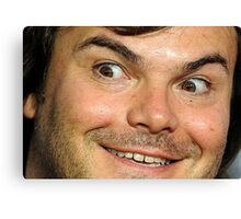 Blessed Jack Black Eyebrow Canvas Print