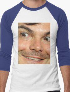 Blessed Jack Black Eyebrow Men's Baseball ¾ T-Shirt