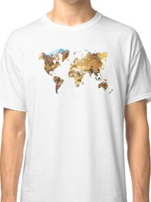 Map of the world house living Classic T-Shirt