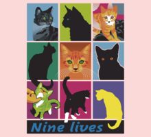 nine lives One Piece - Short Sleeve