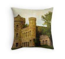 Kansas City's Castle Throw Pillow