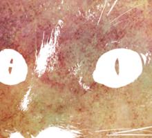 Orange cat Sticker