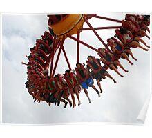 CLAW Ride, Dreamworld Queensland, Australia Poster