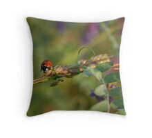 Morning meeting Throw Pillow