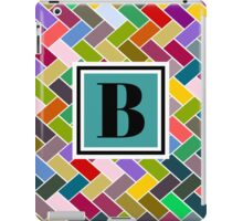 B Monogram iPad Case/Skin