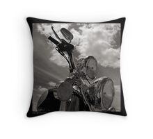 """Harley-Davidson, Wash Day"" Throw Pillow"