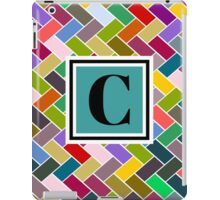 C Monogram iPad Case/Skin