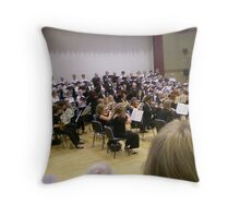 Making Music-good for the soul. Throw Pillow