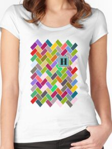 H Monogram Women's Fitted Scoop T-Shirt