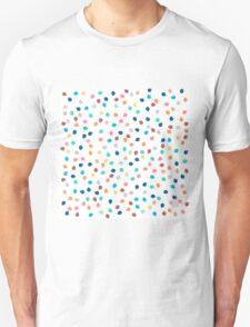 Spring modern polka dots brushstrokes pattern T-Shirt