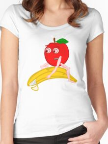 Osteopath Fruit Women's Fitted Scoop T-Shirt