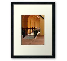 The Venice Train Station Framed Print