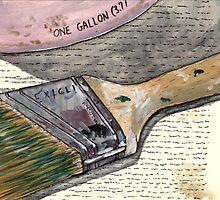 Brush of Choice by bernzweig