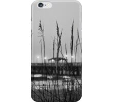 It's Just Over There B&W iPhone Case/Skin