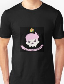 """YOU ARE TRASH "" Mystery Skulls - "" Ghost "" fan art merchandise  T-Shirt"