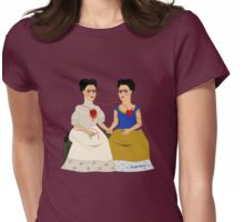 Ladies Fridas Womens Fitted T-Shirt