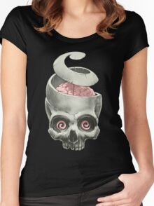 Open Your Mind! Women's Fitted Scoop T-Shirt