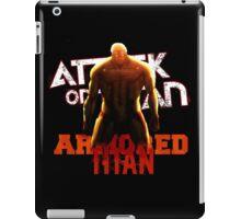 Attack On Titan - Armored Titan iPad Case/Skin